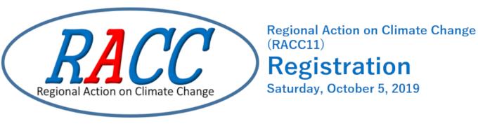 RACC11 registration